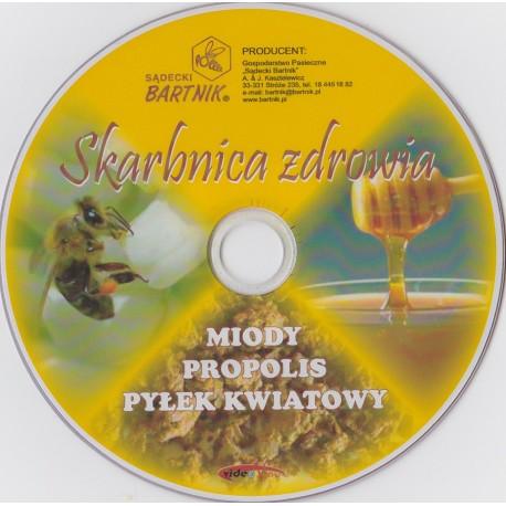 Skarbnica zdrowia - Miody, Propolis, Pyłek kwiatowy DVD