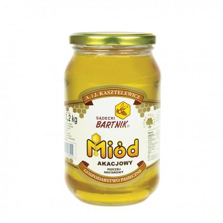 Miód akacjowy - 1,2 kg