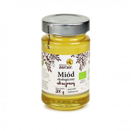Miody ekologiczne - miód akacjowy 300 g
