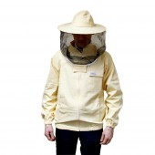 Bluza pszczelarska rozsuwana z kapeluszem - Adamek
