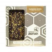 Belgijska czekolada ciemna z pyłkiem kwiatowym - 85 g