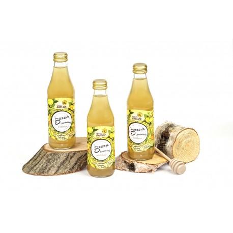 Lemoniada miodowa Bzzzyk z jabłkiem, cytryną i miętą - 250 ml