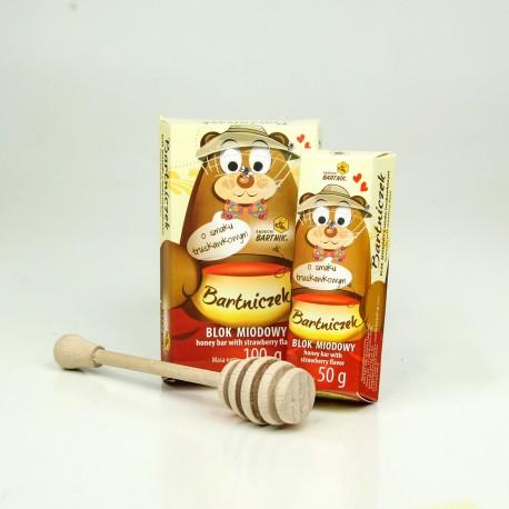 Baton truskawkowy 50 g