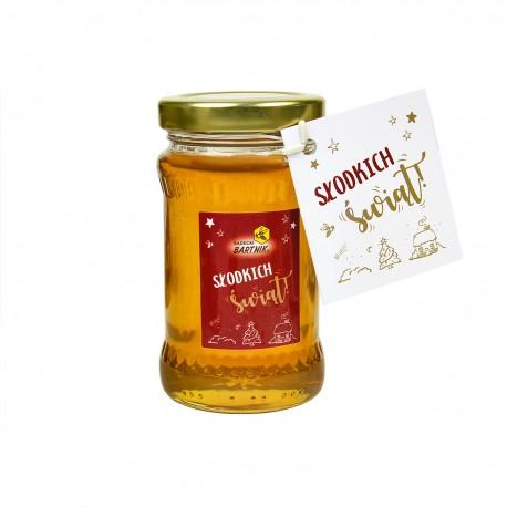 Świąteczny miód lipowy 220 g Słodkich Świąt