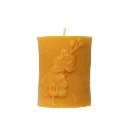 Świeczka - Z orchideą
