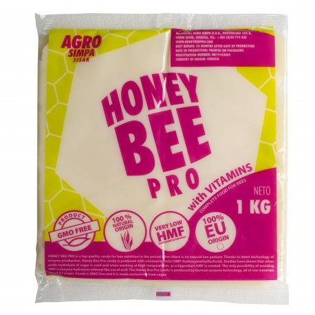 Ciasto dla  pszczół 1KG HONEY BEE PRO VITAMIN