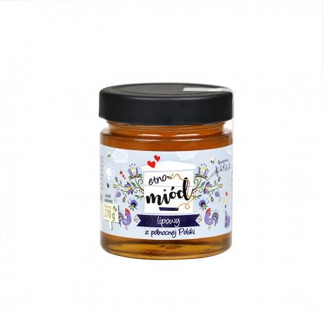 ETNO miód - lipowy z północnej Polski 270 g