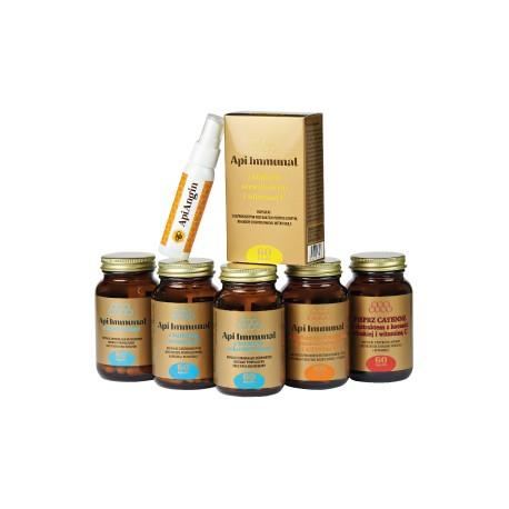 Api Immunal z kurkumą, ekstraktem z kocanki włoskiej i witaminą C
