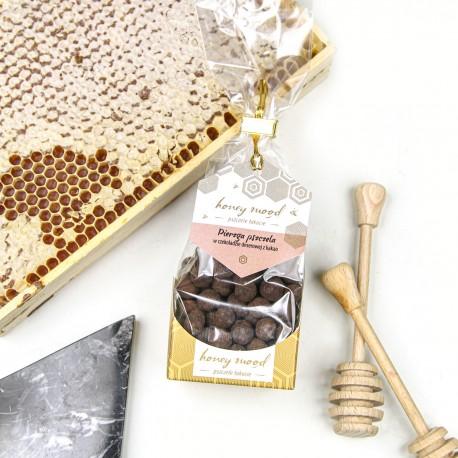 Pierzga pszczela w czekoladzie deserowej z kakao