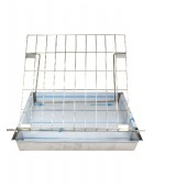 Stainless steel uncapping tray