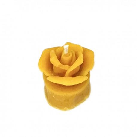 Świeczka - Tealight z różą