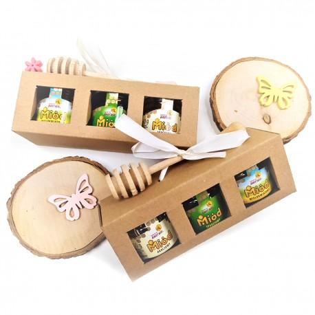A set of honey - mini