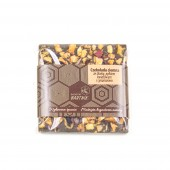 Belgijska czekolada ciemna ze śliwkami, pyłkiem kwiatowym i cynamonem 35 g