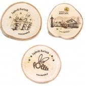 Fridge magnet with logo