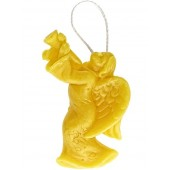 Beeswax candle - Hanging angel  (02)