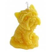 Beeswax candle - Dog