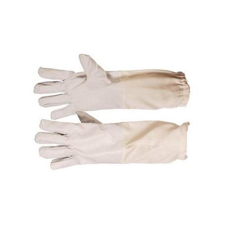 Dadant leather gloves