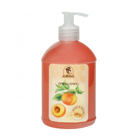 """Mydło w płynie owocowe 0.5 l """"Korana"""""""