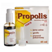 Krople propolisowe do rozpylania spray z aplikatorem 45 ml