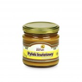Miód z pyłkiem - 250 g, Naturalny pyłek kwiatowy