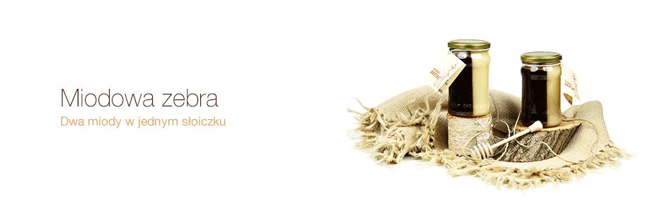 Miód rzepakowo - gryczany