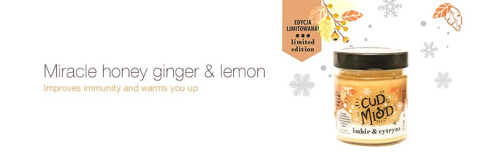 Miracle honey ginger & lemon